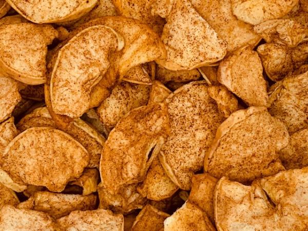 Appel kaneel chips