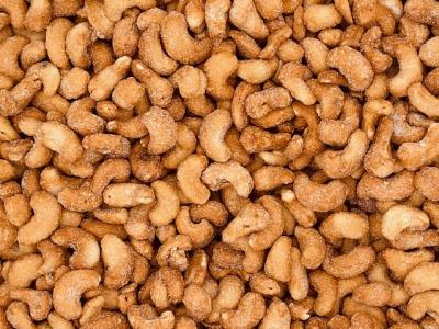 Cashewnoten geroosterd honing&zout